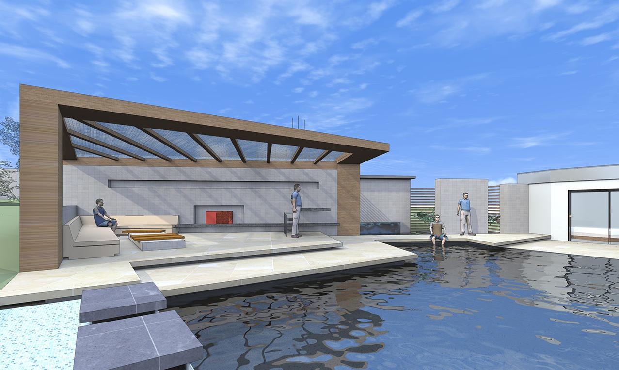 poolhaus ac plan. Black Bedroom Furniture Sets. Home Design Ideas